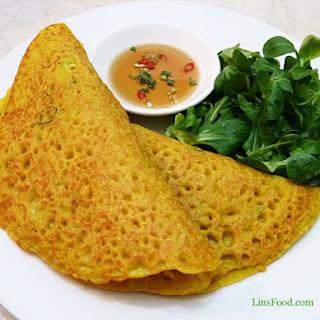 Bánh Xèo – Savoury Vietnamese Pancakes