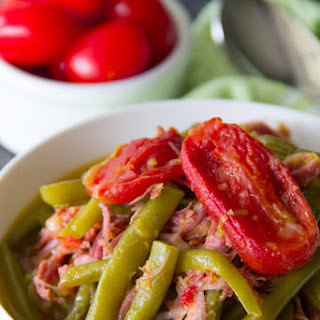 Southern Style Green Beans with Smoked Turkey Recipe