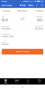 Cleartrip - Flights, Hotels & Activities App - AppRecs