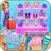 Shopping mall & dress up game