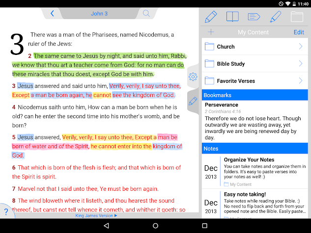 ESV Bible Screenshot