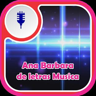 Ana Barbara de Letras Musica - náhled