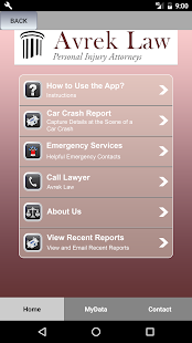 Avrek Law Personal Injury App- screenshot thumbnail