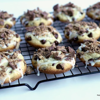 Kit Kat Stuffed Soft Baked Chocolate Chip Cookies