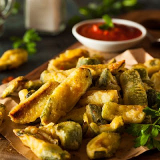 Easy Fried Pickle Spears
