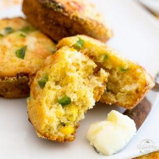 Jalapeno Cheddar Cornmeal Muffins.