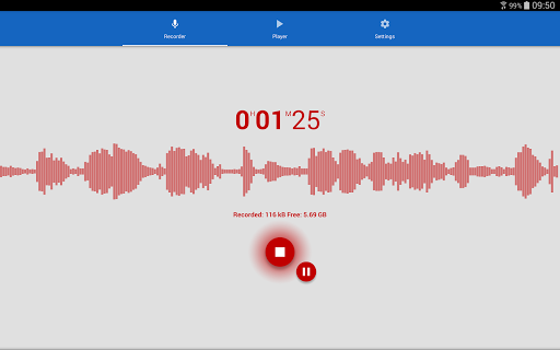 Voice Recorder 2.59 screenshots 10