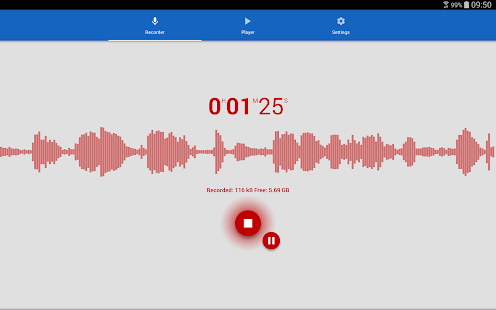 Voice Recorder Screenshot