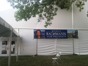 Photo: Air Conditioned Tent - with Randy Travis inside
