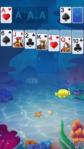 Solitaire Klondike Fish apkpoly screenshots 1