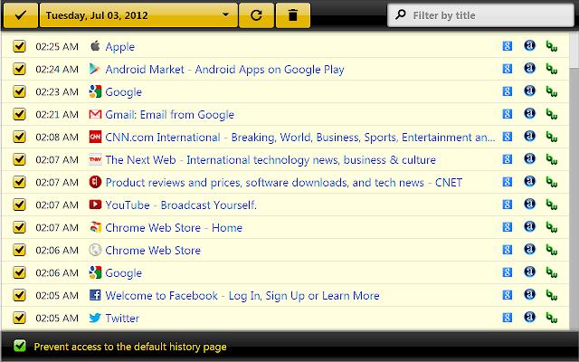 history eraser app
