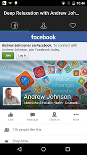 Relax with Andrew Johnson- screenshot thumbnail