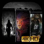 Dark Wallpapers - 4K Black & AMOLED Backgrounds