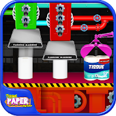 Tissue Paper Factory – Soft Tissue Maker Game