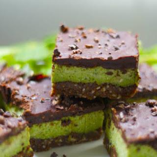 Raw Mint Chocolate Bars
