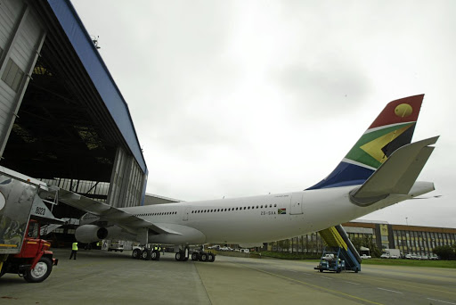 Sinkhole for cash: Amid continuing cash-flow headwinds, South African Airways asked the government for a R5bn bailout in April to tide it over for a few months. That was after the carrier received R10bn in 2017. Picture: SYDNEY SESHIBEDI