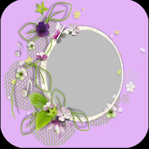 Nice Flowers Photo Frames