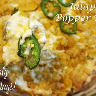 Jalapeño Popper Dip.