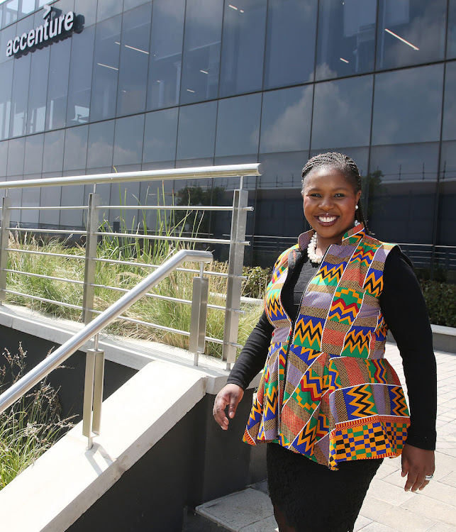 Ntombi Mhangwani, experience architect and women's forum lead at Accenture Interactive Africa.
