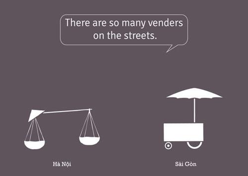 So sánh tếu táo giữa Hà Nội và Sài Gòn 4