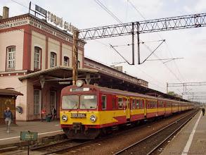"""Photo: ED72-005 & EN57-1337, P """"Flisak"""" Inowrocław - Olsztyn Główny {Toruń Główny; 2004-05-12}"""