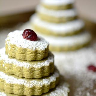 Christmas Matcha Green Tea Cookies [Recipe]