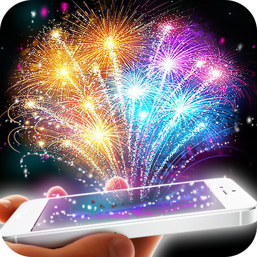 Fireworks. Augmented reality 模擬 App LOGO-APP開箱王
