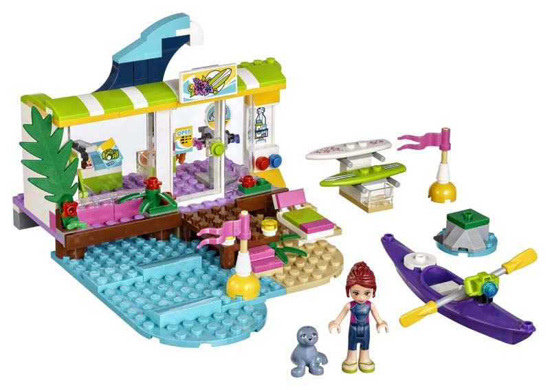 Contenido de Lego® 41315 Tienda de Surf de Heartlake