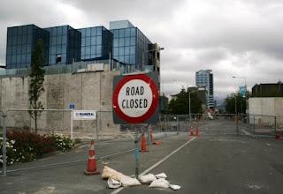 Photo: Christchurch nach dem Beben