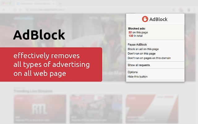 AdBlock - Stop Ad on every Site