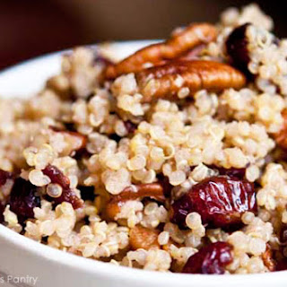 Clean Eating Cranberry Pecan Quinoa