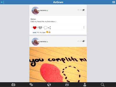 AzGram.Az - The Social Network screenshot 8
