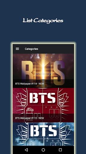 BTS Wallpapers KPOP Ultra HD and LIVE 1.2.6 screenshots 2