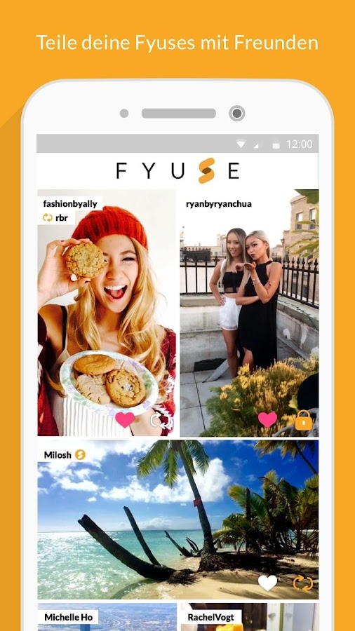Fyuse - 3D-Fotos – Screenshot