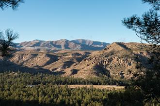 Photo: Rendija Canyon cliffs