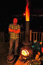 Photo: John at home