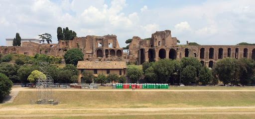 Ruins Of Rome and Racing area