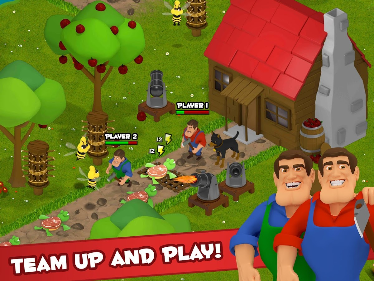 Battle Bros - Tower Defense- screenshot