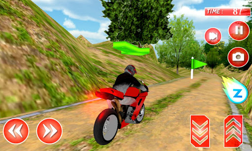 Offroad Jungle Motorcycle 3D