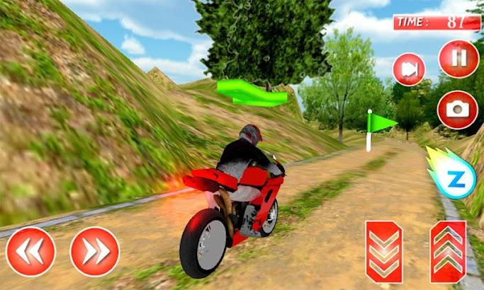 Offroad Jungle Motorcycle 3D- screenshot thumbnail
