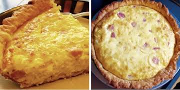 Ham & Swiss Quiche By Noreen