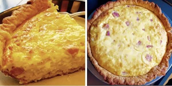 Ham & Swiss Quiche By Noreen Recipe