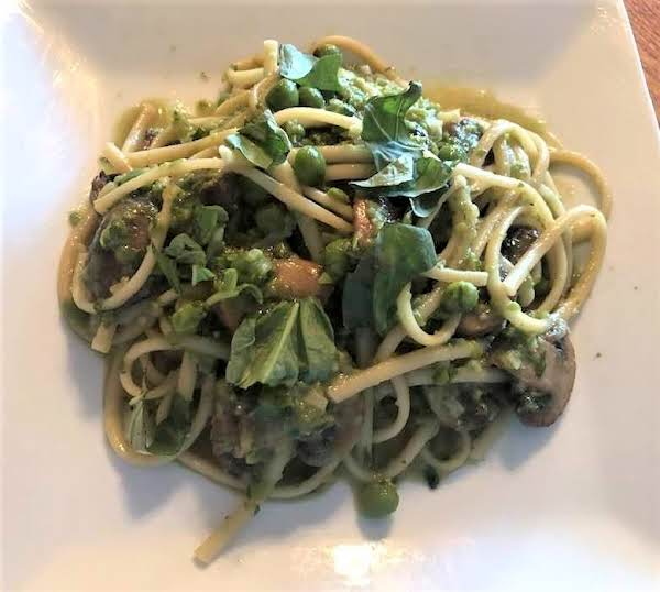 Linguine With Basil And Peas