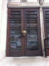 Photo: Skull Doors on 23rd St