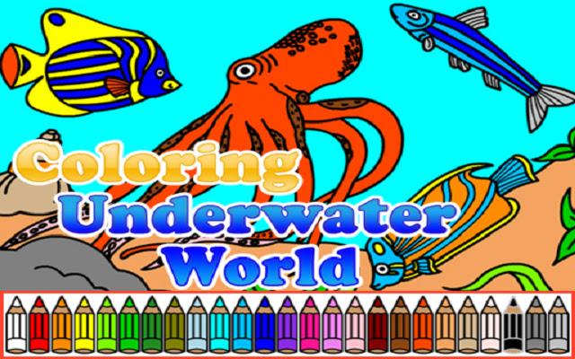 Coloring Underwater World