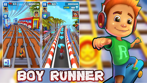 Subway Boy Run: Endless Runner Game screenshot 7