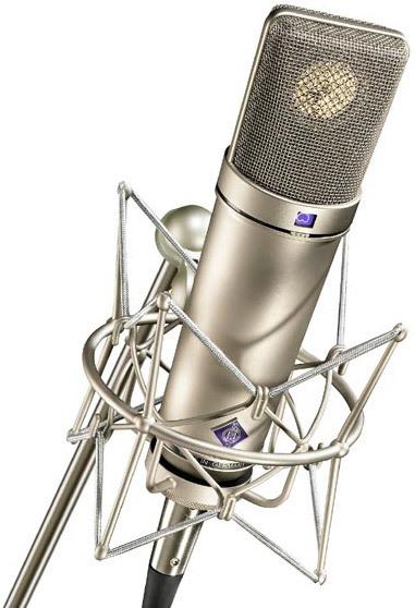 Neumann U87 microphone
