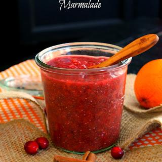 Cranberry Orange Chia Seed Marmalade