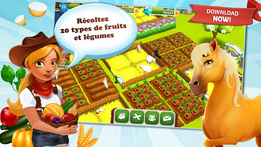My Free Farm 2 captures d'u00e9cran 1