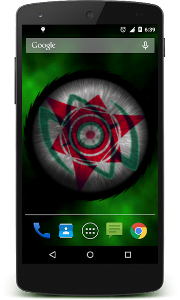 ... Sharingan Live Wallpaper Pro Android App Screenshot ...